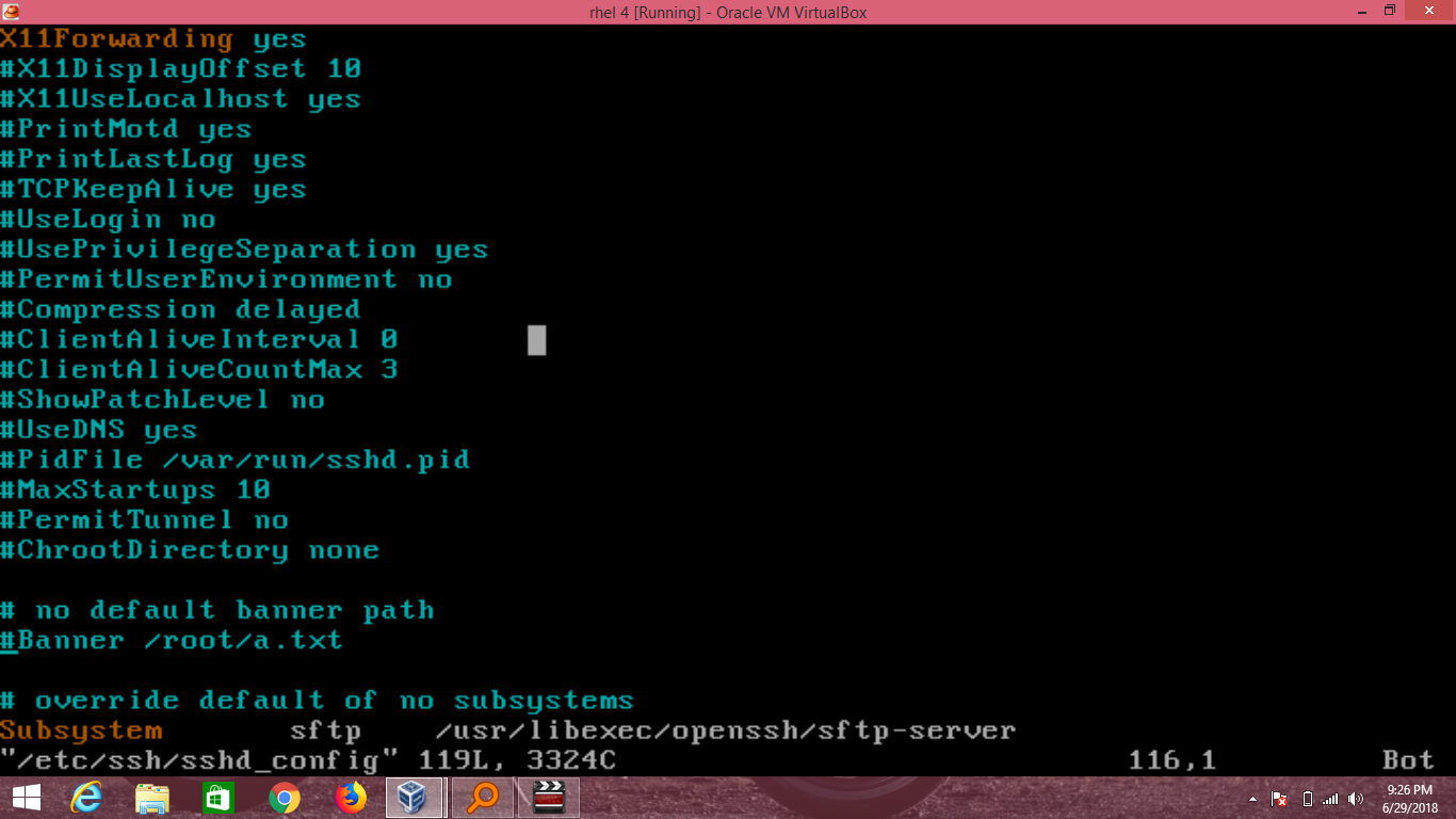 How To Configure SSH Server In Redhat Linux – CCNA Windows