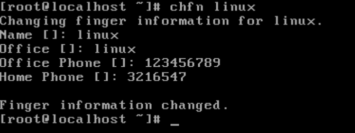 What Is The Use Of Chfn Command In Linux – CCNA Windows