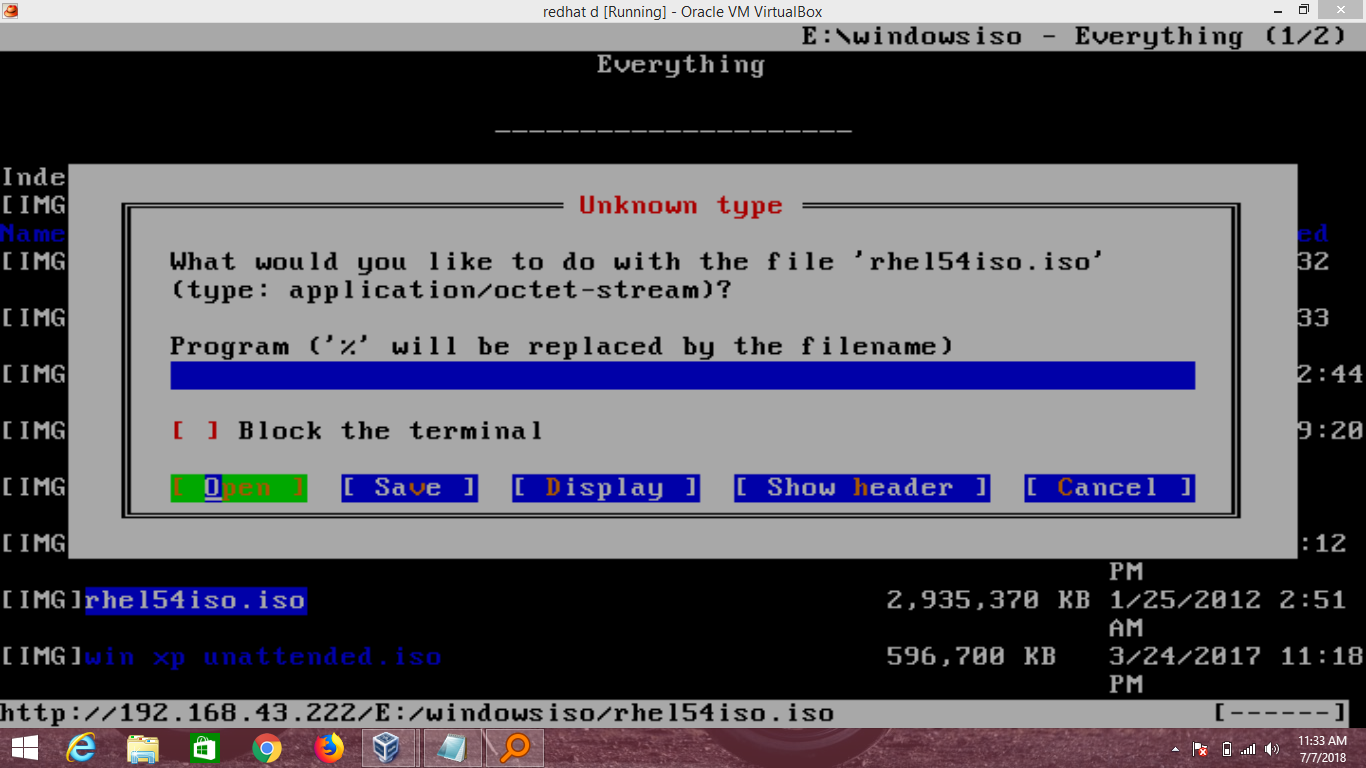 How To Impot Any ISO File From Windows To Linux Cli Mode And